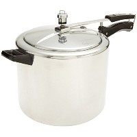 Hawkins?Classic CL65 6.5-Liter New Improved Aluminum Pressure Cooker, Small, Silver [並行輸入品]