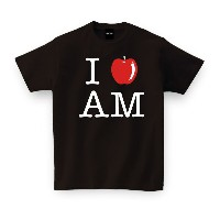 I LOVE AM【青森】ご当地 Tシャツ おもしろTシャツ 誕生日プレゼント 女性 男性 女友達 おもしろ プレゼント ギフト GIFTEE