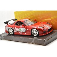 """Jada TOYS 1:24 SCALE """"THE FAST AND THE FURIOUS"""" """"DOM'S MAZDA RX-7"""" ジェイダトイズ 1:24スケール「ワイルドスピード」「ドムズ..."""