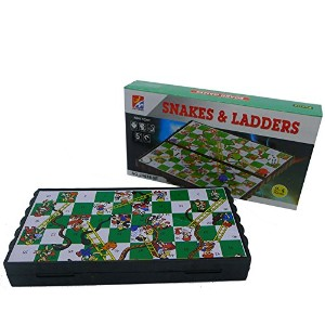 Snakes and Ladders 蛇と梯子 パズル へびとはしご ミニゲーム Snakes & Ladders旅行 携帯 外出 ゲーム 磁石 ファミリーゲーム 2~4人