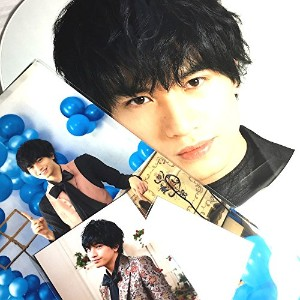 Sexy Zone presents Sexy Tour 2017 ~ STAGE アリーナツアー 公式グッズ 【中島健人】ジャンボうちわ+オリジナルフォトセット+クリアファイル + 公式写真 【...