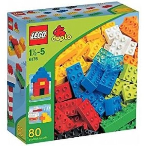 LEGO 6176 DUPLO Basic Bricks Deluxe (80 Pcs.) by LEGO [並行輸入品]