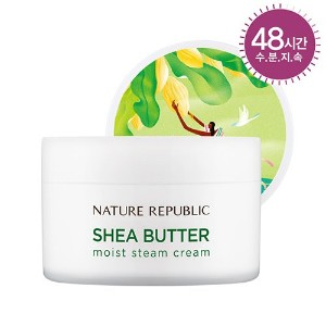 [ネイチャーリパブリック] NATURE REPUBLIC [スチームクリーム 100ml] (Shea Butter Steam Cream 100ml) (02 Moist Steam...