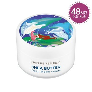 [ネイチャーリパブリック] NATURE REPUBLIC [スチームクリーム 100ml] (Shea Butter Steam Cream 100ml) (03 Fresh Steam...