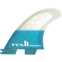 FCS エフシーエス フィンFCS II Performer PC Teal Tri Set PC-PERFORMER-TRI TEL M