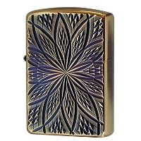 Zippo(ジッポー):D/C BLOOM2/(A)Antique Brass