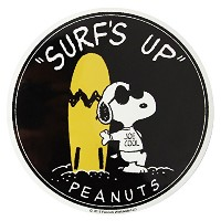 PEANUTS SURFBOARD STICKER SNP-0064 サーフボードステッカー