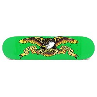ANTIHERO DECK アンチヒーロー デッキ TEAM CLASSIC EAGLE GREEN 7.81