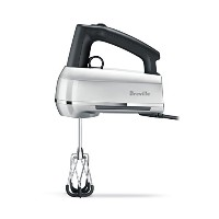 Breville BHM800SIL Handy Mix Scraper Hand Mixer, Silver by Breville