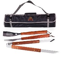 NCAA Cornell Big Red 3-Piece BBQ Tool Set With Tote [並行輸入品]