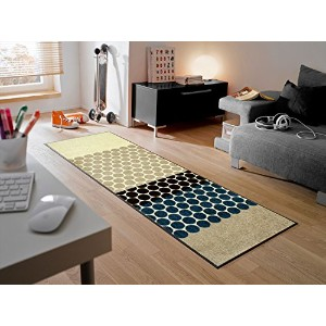 KLEEN TEX wash+dry Graphics Interior J003C Mixed Dots 60×180cm