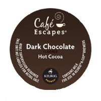 KEURIG K-Cup 【キューリグ用 K-Cup Cafe Escapes ダークチョコレートホットココア】 【並行輸入商品】