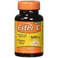 海外直送品 American Health Ester-c, 60 Caps 500 mg