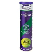 Slazenger Super Premium Grade Woven The Wimbledon Tennis Ball Pack Of 4 by Slazenger [並行輸入品]