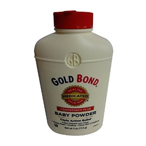 Gold Bond Medicated Baby Powder 4 Oz ( Pack of 5 ) by Gold Bond