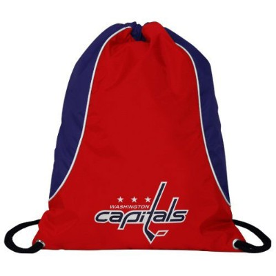 NHL チームロゴ バックサック キャピタルズ Washington Capitals Red-Navy Blue Axis Backsack