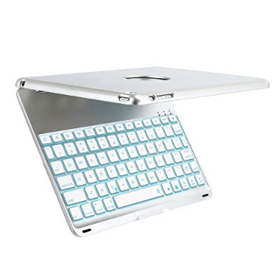 efluky F8S+ keyboard bluetooth for ipad air 2 (シルバー)
