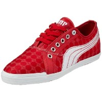Puma Crete Lo Dot Womens Sneakers / Shoes-Red-24