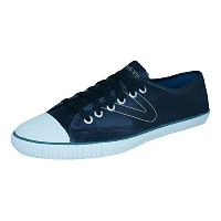 Tretorn T56 WGT Mens Leather Sneakers / Shoes-Black-26.5