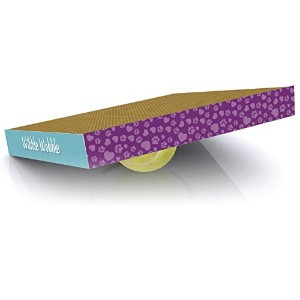 Hugs Pet Products Wibble Wobble Scratch Pad for Cats by Hugs Pet Products