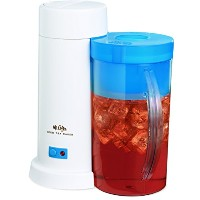 Mr. Coffee 2-Quart Iced Tea Maker for Loose or Bagged Tea, Blue by Mr. Coffee