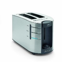 Toastess DLTT671 2-Slice Electronic Toaster, Stainless Steel [並行輸入品]