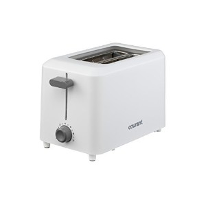 Courant CTP-2701W Cool Touch 2-Slice Toaster, White [並行輸入品]