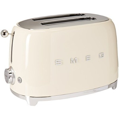Smeg 2-Slice Toaster-Cream [並行輸入品]