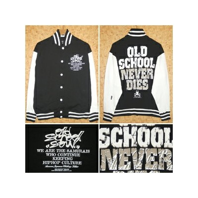 MELT DOWN [メルトダウン] ジャケットMD11FW-SWJK04 OLD SCHOOL SWEAT STADIUM JACKET