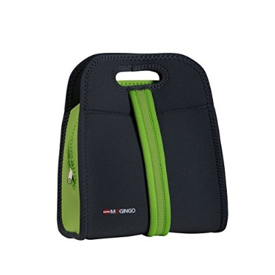 Mogingo Insulated Zippered Tote - Neoprene Lunch Cooler Bag with Dual Carrying Handle Options ...