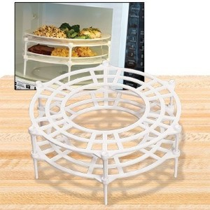 Microwave Plate Stacker, Set of 2 by Cobble Creek
