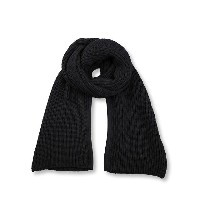 KRIS VAN ASSCHE クリスヴァンアッシュ CHUNKY KNIT SCARF W/ SLIT{112KN0120-0125-999-}{PS50}