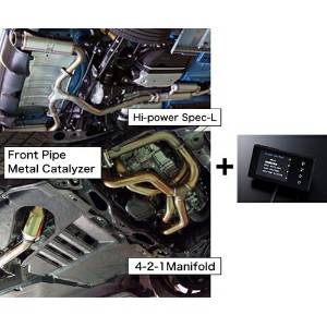 HKS SUPER EXHAUST ECU PACKAGE (Hi-Power SPEC-L) トヨタ 86 MC後 ZN6用 (33009-AT008)【マフラー】エッチケーエス...
