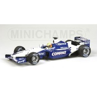 WILLIAMS | F1 BMW FW23 N 5 SEASON 2001 R.SCHUMACHER | WHITE BLUE /Minichampsミニチャンプス 1/43 ミニカー