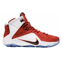 "Nike LeBron XII 12 ""Heart of a Lion""メンズ niversity Red/White/Hyper Crimson/Black ナイキ バッシュ レブロンジェームス"