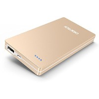 CHOETECH 超薄型 モバイルバッテリー 10000mAH 5V/2.4A iPhone 8,iPhone 8Plus, iPhone X,iphone 7,7 Plus, LG G6,...