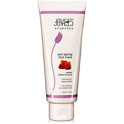 Jovees Ayurveda Sandal, Saffron & Honey Anti Ageing Face Mask - 120 Gms (Pack of 3) Free Expedited...
