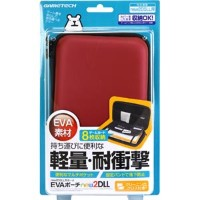 【New2DS LL】EVAポーチnew2DLL(レッド) ゲームテック [N2F1994 2DSLLエヴァポーチレッド]【返品種別B】