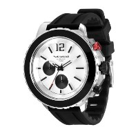 "ベスタル Vestal Men's YATCS02 Yacht"" Stainless Steel Watch with Black Rubber Strap"" [並行輸入品]"