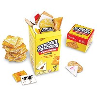 Learning Resources Stacker Crackers Picture Alphabet Game 【英語玩具 英単語ゲーム】 クラッカータワー ピクチャーアルファベット 正規品