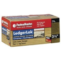"Fastenmaster OMGFMLL358-50LedgerLok Deck Screw-50PC 3-5/8"" LEDGERLOK (並行輸入品)"