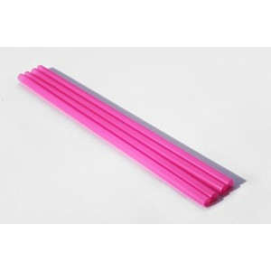 6 Inch Drinking Straws (250 Straws) BPA-FREE BAR-TY TIME! (PINK) by BAR-TY TIME!