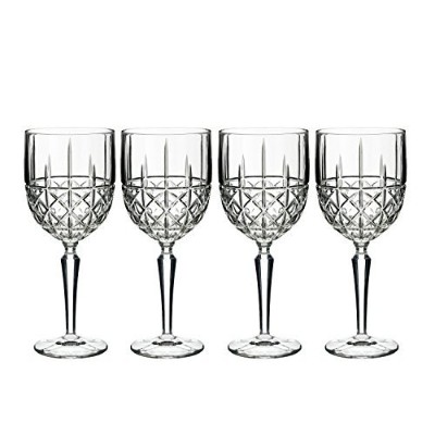 Marquis by Waterford Brady Wine (Set of 4), Clear [並行輸入品]