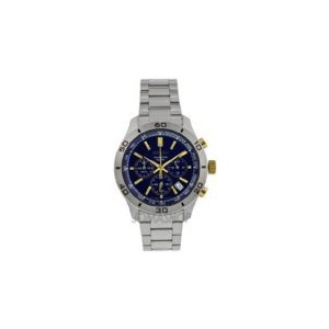 時計 Men セイコー Seiko SSB055 Stainless Steel Case and Bracelet Chronograph Blue Dial Date D [並行輸入品]