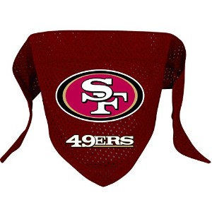 DoggieNation 716298009648 Small San Francisco 49ers Dog Bandana