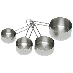 Heavy Duty Commercial Measuring Cup Set