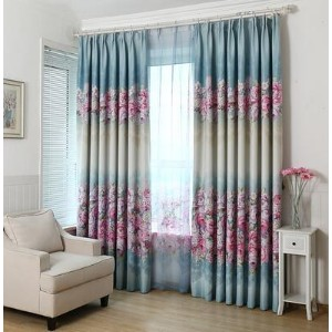 Curtain Finished Special Bedroom Living Room Full Shade Curtain Fabric Floor Cover