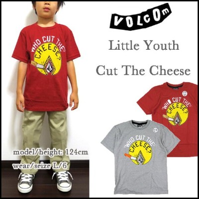 VOLCOM ボルコム キッズ Tシャツ 子供 Little Youth CUT THE CHEESE TEE ティーシャツ 05P03Dec16