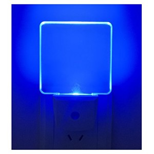 Greenic 0.5Wプラグin LED Night Light with Dusk to Dawnセンサー2- Pack