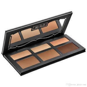 SHADE  LIGHT CONTOUR PALETTE 6 Colors Bronzers  Highlighters Palette
